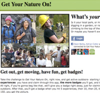 Youth: New Facebook App for Kids Supports Let's Move Outside