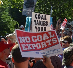 Grassroots Activism: Coal Export Hearings Begin in Pacific Northwest