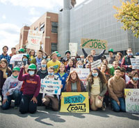 Campuses Beyond Coal: Virginia Power Shift Rally