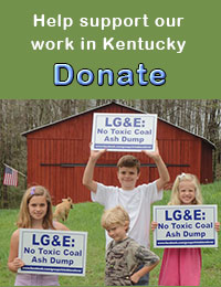 Help support our work in Kentucky - Donate