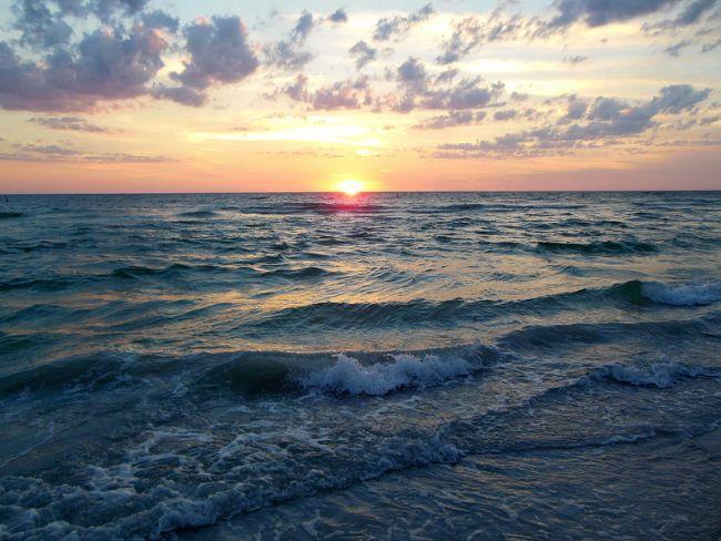 Sunset Time Indian Rocks Beach Fl