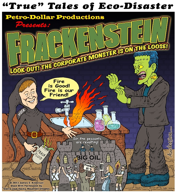 Frackenstein, by James Anderson