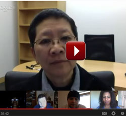 Google hangout on diversity