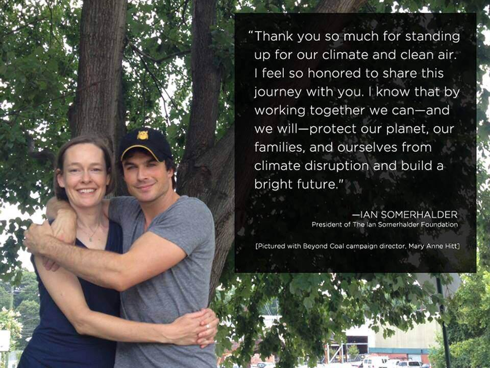 Ian Somerhalder and Mary Anne Hitt