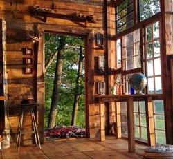 5 Dream Cabins From Repurposed Junk