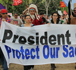 Communities Unite to Stop Keystone XL