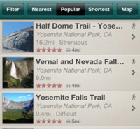Trails iPhone App
