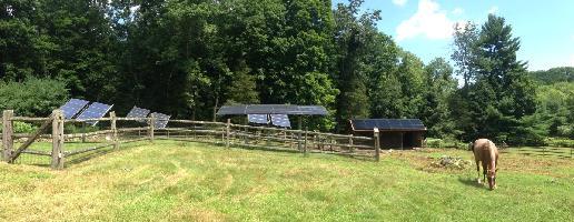 Judi's solar panels