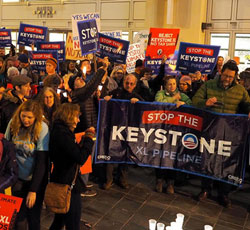 Rallies Against KXL