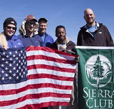 Sierra Club Military History