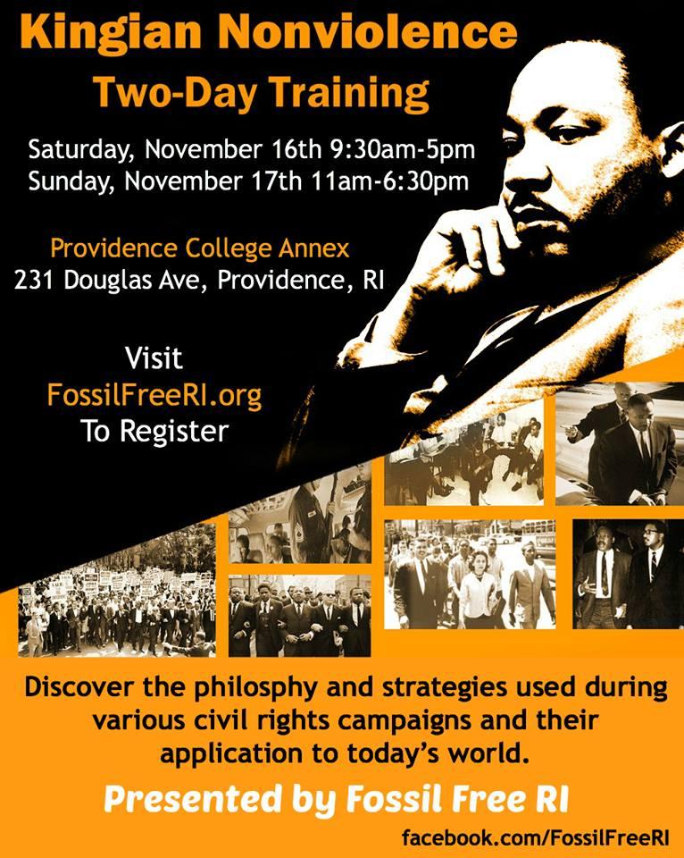 Kingian Nonviolence Training Rhode Island