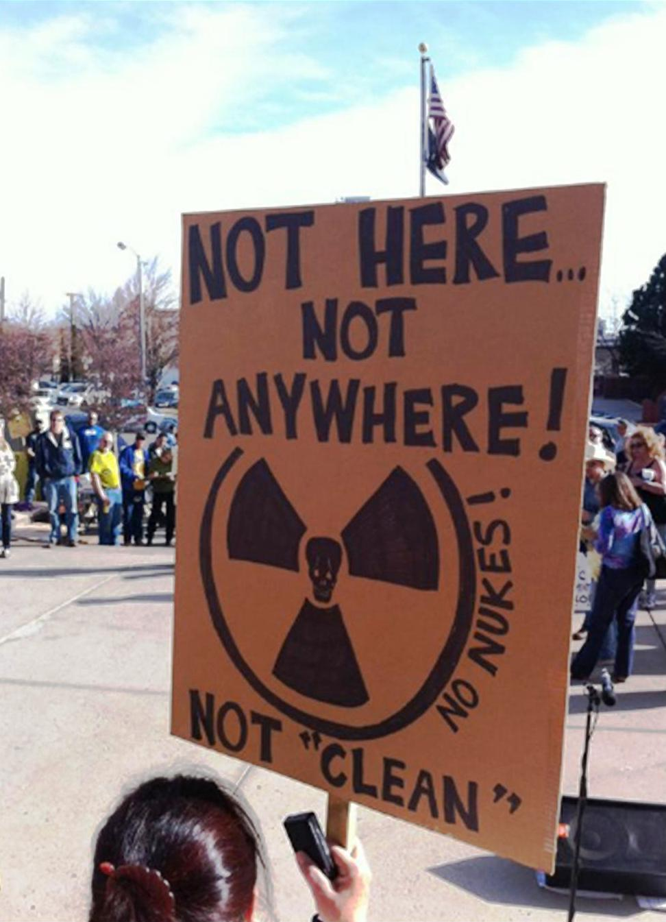 No Nuclear Protest