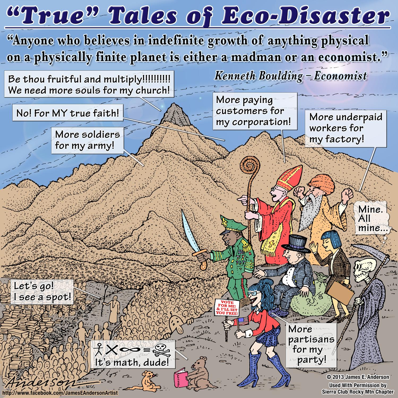 True Tales of Eco-Disaster September cartoon