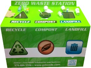 Poudre Canyon Group Zero Waste Station