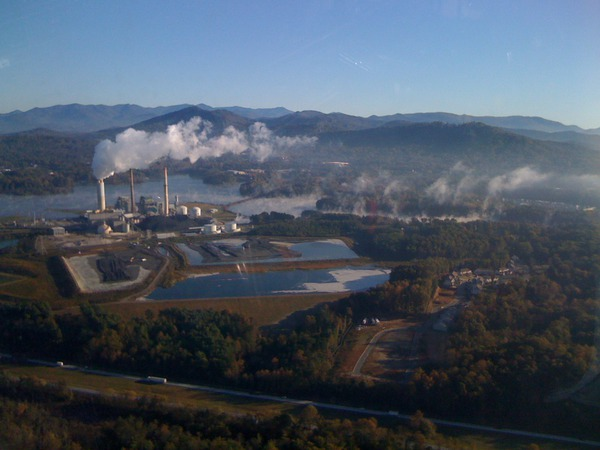 Skyland coal plant in Asheville