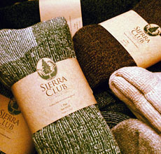 Sierra Club Socks