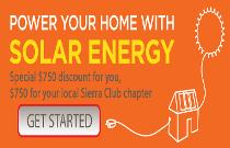 Solar Homes banner