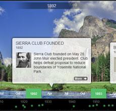 Sierra Club Timeline