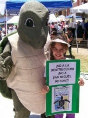 6th Annual Leatherback Turtle Festival - check out our photos.