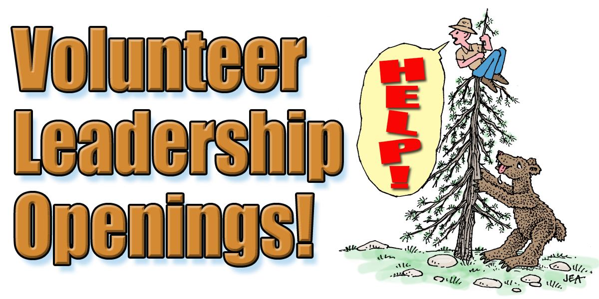 Volunteer Leadership Openings