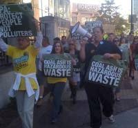 Coal Ash protest