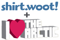 Design a shirt for the Arctic!